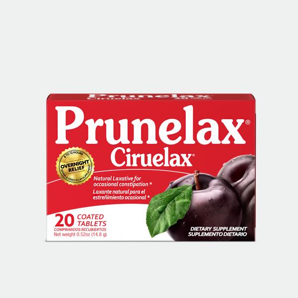 Prunelax Ciruelax 20 Tabs Caja 01