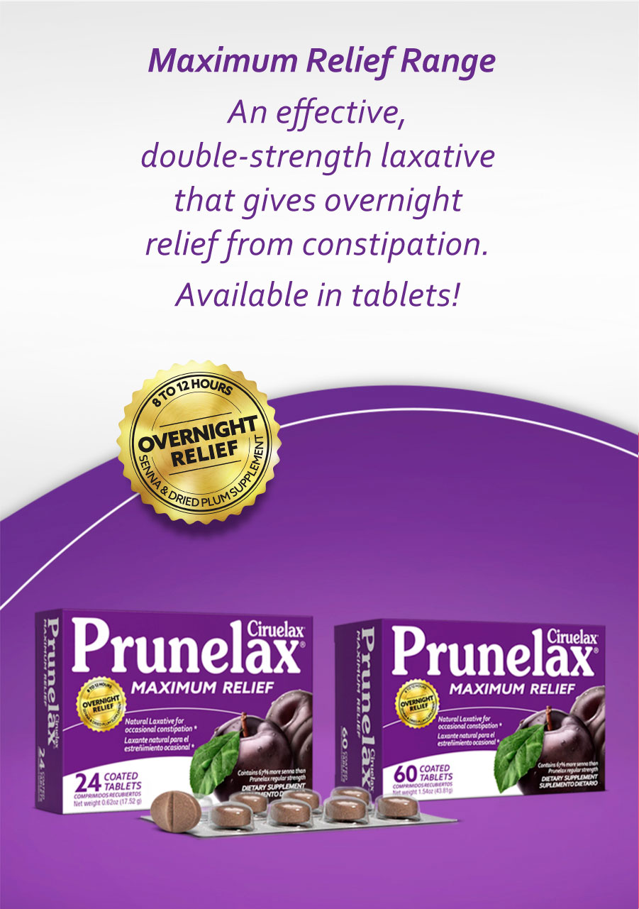 Prunelax - Full product range